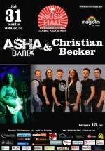 Concert Asha Band & Christian Becker în Music Hall din Bucureşti