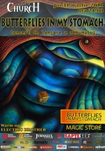 Lansare album Butterflies in My Stomach în The Silver Church din Bucureşti