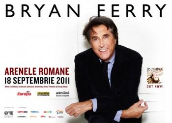 Concert Bryan Ferry la Bucureşti