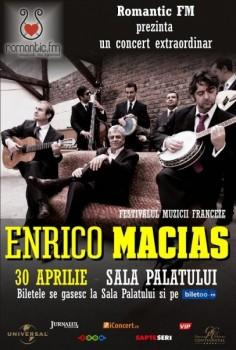 Concert Enrico Macias la Bucureşti