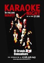Karaoke Night în El Grande Comandante din Bucureşti