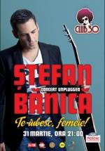 Concert Ştefan Bănică Jr. în Club 30 din Timişoara