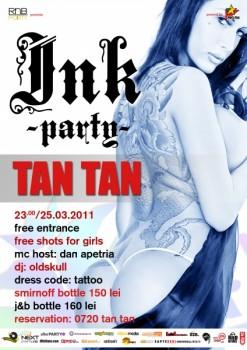 Ink RnB Party în Tan Tan Club din Bucureşti