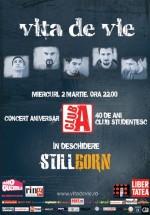 Concert Viţa de Vie la Club A din Bucureşti