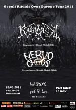 Concert Ragnarok şi Nervochaos în Waldo's Pub din Bucureşti