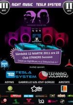 Tesla System şi Stefanno b2b Julianno în Club Strikers din Suceava