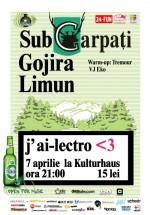 J'ai-lectro 3 în Kulturhaus din Bucureşti