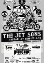 Concert The Jet-Sons Rockabilly Trio în Rockstadt Club din Braşov