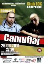Concert Camuflaj în Club Fox din Lupeni