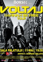 Concert Voltaj la Sala Palatului din Bucureşti
