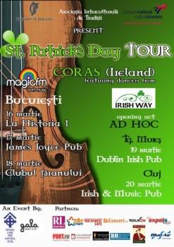 St. Patrick's Day Tour 2011