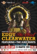 """Eddy """"The Chief"""" Clearwater în Hard Rock Cafe din Bucureşti"""