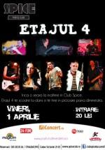 Concert Etajul 4 în Spice Club din Bucureşti