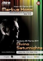 Markus Homm în Club Divino din Galaţi