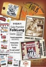 Gala Premiilor FolkLung în Pub La Fierărie din Suceava