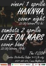 Concert Hannya & Life on Mars în Club The Foor din Bucureşti