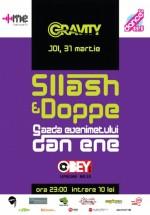 Gravity cu Sllash & Doppe în Club Obey din Bucureşti