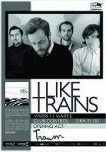 Concert iLiKETRAiNS în Club Control din Bucureşti