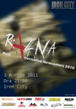 Concert Razna în Iron City din Bucureşti
