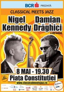 """""""Classical Meets Jazz"""" la Piaţa Constituţiei din Bucureşti"""
