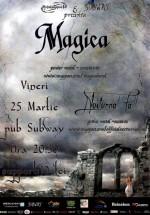 Concert Magica şi Nocturnal Fall în Subway Pub din Bacău