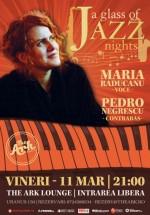 """""""A glass of Jazz"""": Concert Maria Răducanu în The Ark din Bucureşti"""