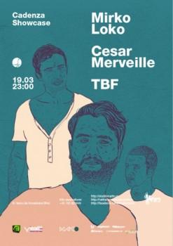 Mirko Loko şi Cesar Merveille în Studio Martin din Bucureşti