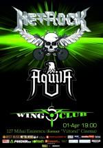 Concert Metrock în Wings Club din Bucureşti
