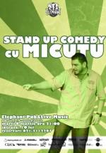 Stand-up Comedy cu Micutzu în Elephant Pub din Bucureşti