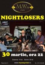 Concert Nightlosers în My Way Club din Cluj-Napoca