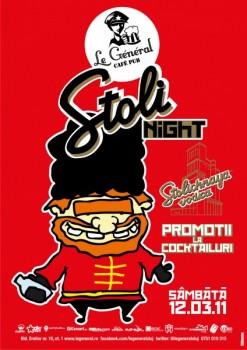 Stoli Night în Le Général Café-Pub din Cluj-Napoca