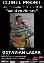 Recital Octavian Lazăr la Clubul Presei din Iaşi