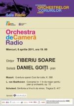 Concert Tiberiu Soare la Sala Radio din Bucureşti