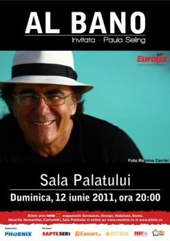 Concert Al Bano la Sala Palatului din Bucureşti