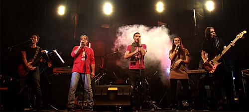 Christian Becker & Avenue vor deschide concertul Scorpions