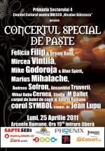Concert Special de Paşte la Arenele Romane din Bucureşti