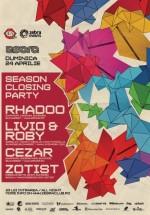 Season Closing Party în Zebra Club din Bacău