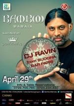 DJ Ravin în Club Bamboo Mamaia