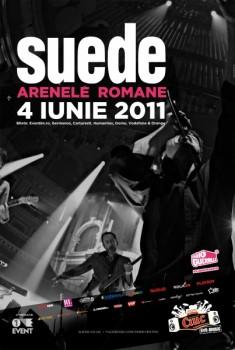 Concert Suede la Arenele Romane din Bucureşti