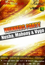 Winners Party în Kristal Glam Club din Bucureşti