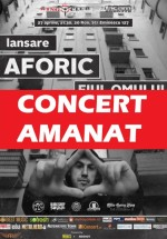 Concert Aforic în Wings Club din Bucureşti – AMÂNAT