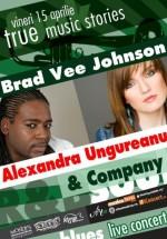 Brad Vee Johnson & Alexandra Ungureanu în True Club din Bucureşti