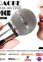 Karaoke în Spice Club din Bucureşti
