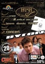 Concert byron în Club Hush din Piteşti