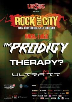 Rock the City 2011 la Bucureşti