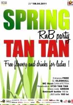 Spring RnB Party în Tan Tan Club din Bucureşti