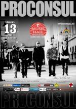 Concert Proconsul în Music Hall din Bucureşti – ANULAT