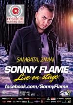 Concert Sonny Flame în Resident Society Club din Sibiu
