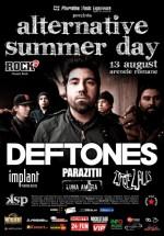 Concert Deftones la Arenele Romane din Bucureşti