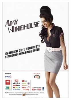 Concert Amy Winehouse la Bucureşti – ANULAT